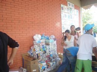 arrecadação de alimento - junho de 2009